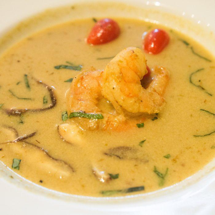Tijgergarnalen soep Thais